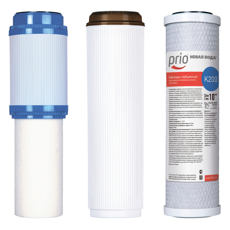 Набор картриджей K606 для фильтров Praktic и фильтров серии E