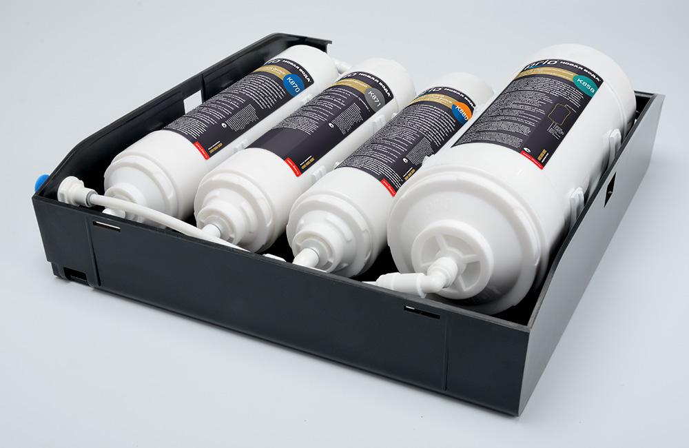 Основной блок системы Expert Osmos Stream MOD600 со снятой крышкой